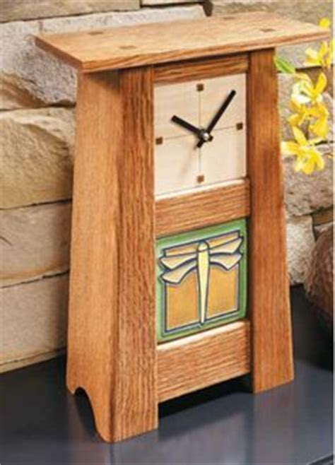 Craftsman Clock Plans   WoodWorking Projects & Plans