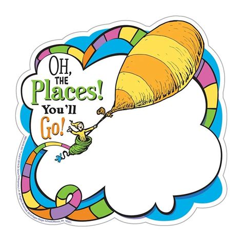 oh the places you ll go writing paper dr seuss quot oh the places you ll go quot paper cut outs cm