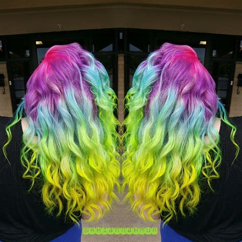 pravana vivids locked in hair pravana vivids locked in rainbow hair color braid