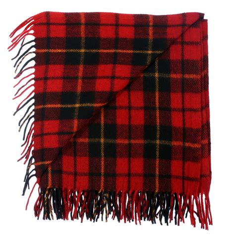 Scottish Cushions Throws And Rugs by New Bnwt Highland Scottish Throw Large Wool Tartan Rug