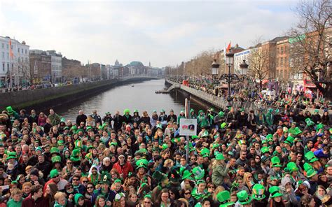 st s day in ireland dublin s st s day parade travel leisure