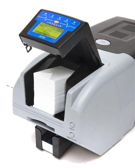 card printer nbs javelin j230if dual sided id card printer