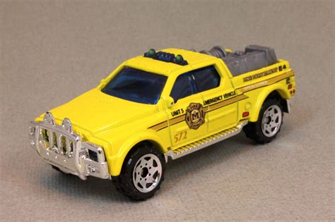 Matchbox Emergency Rescue 4x4 sf0640 model details matchbox