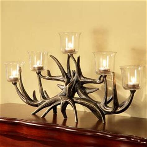 antler votive candelabra by spi home 176 you save 64 00