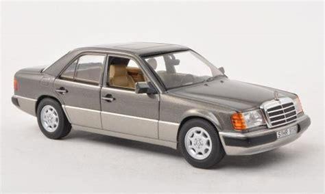 mercedes 230 e miniature w124 grise grise 1988
