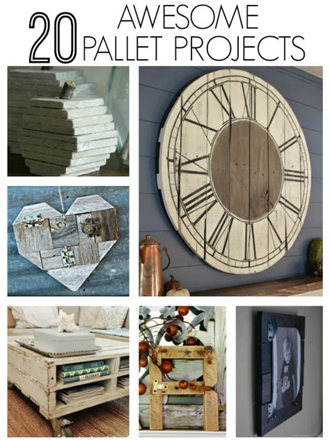 awesome diy home projects 20 awesome diy pallet projects house of four