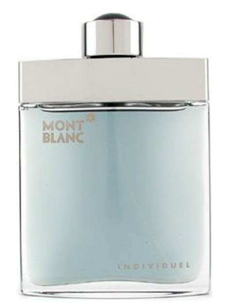 individuel montblanc cologne a fragrance for 2003