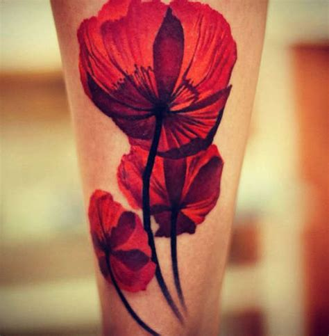 poppies tattoo 34 endearing poppy tattoos designs