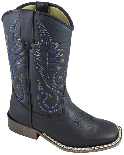 smoky mountain boots youth boys amarillo black faux