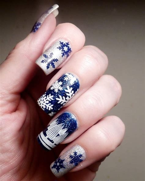 Deco Ongle Pour Noel by D 233 Co Ongles No 235 L Et Nouvel An 49 Inspirations Exquises