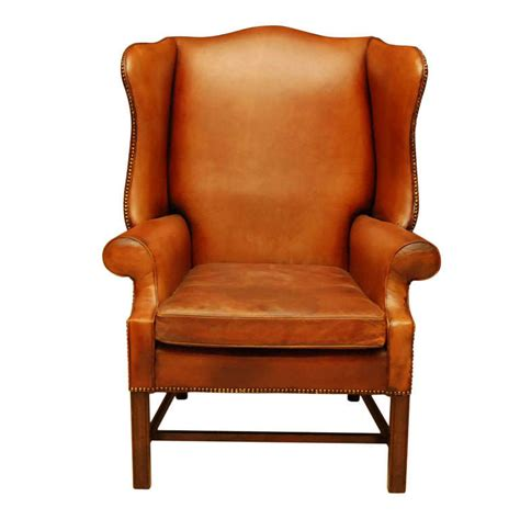 leather wingback armchair wingback leather armchair