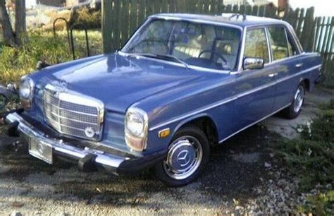 1976 Mercedes 240d by Find Used 1976 Mercedes 240d Diesel 4speed Great Car