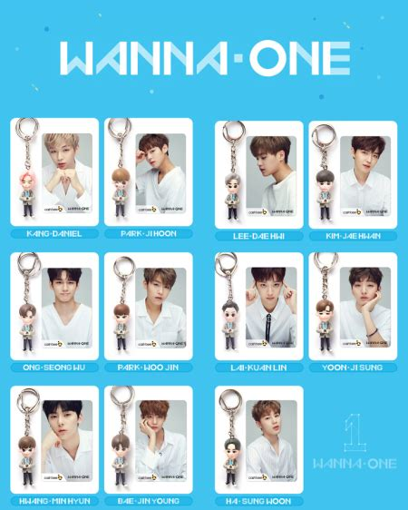 Wanna One Photocard To Be One wanna one