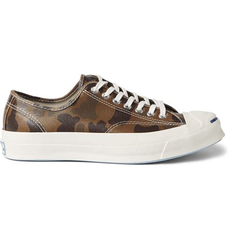 converse camouflage sneakers converse purcell signature camouflage print sneakers