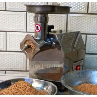 Mesin Giling Ikan Rumahan mesin cetak pelet rumahan untuk peternak mks plt25