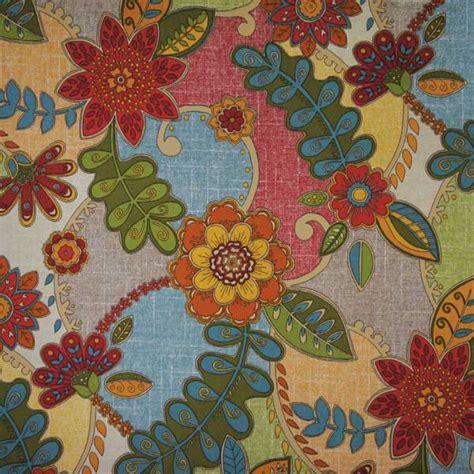 Patchwork Prints - richloom fabrics thico vintage floral patchwork print