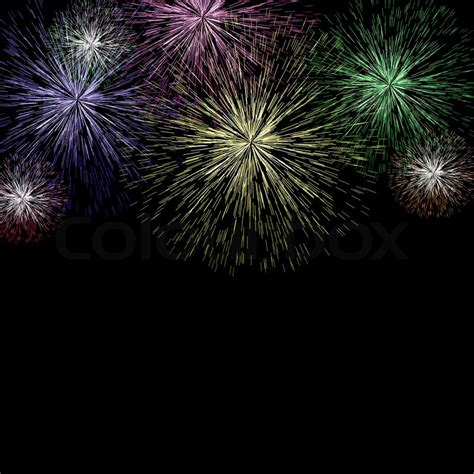 for new year exploding fireworks background for new years or