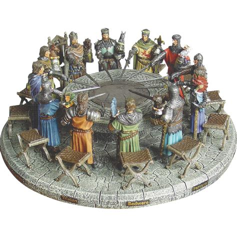 Table Knights by Painted Knights Of The Table Display Me 0216