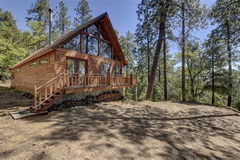 great getaway cabin adjacent to national forest high