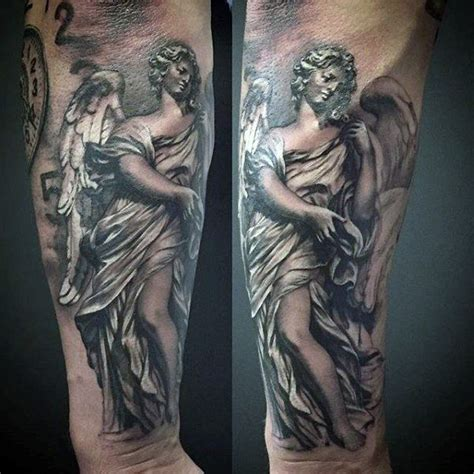 angel tattoos for men arm 100 guardian tattoos for spiritual ink designs