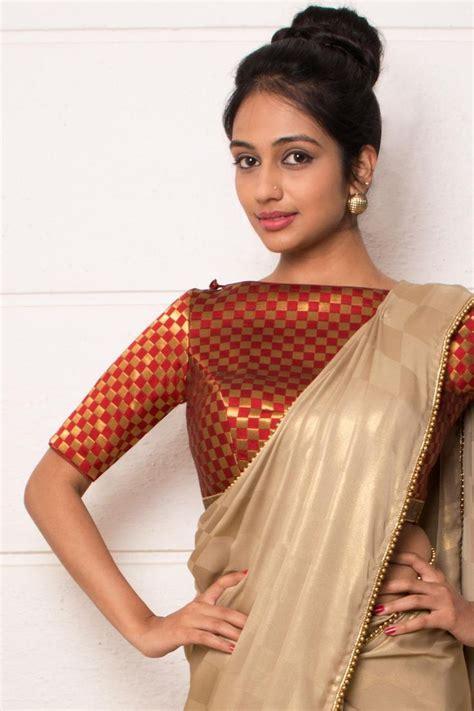 Season Blouse season for checks things to wear saree blouse blouse