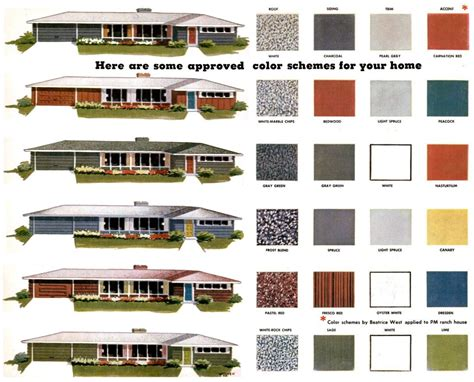 mid century modern colors mid century modern paint colors repinned by secret design