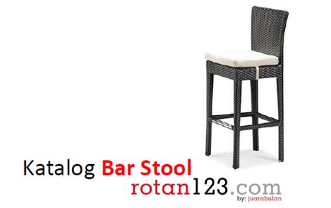 Kursi Bar Rotan kursi bar rotan untuk rumah cafe dan hotel