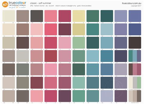 soft summer color palette soft summer color palette pictures to pin on