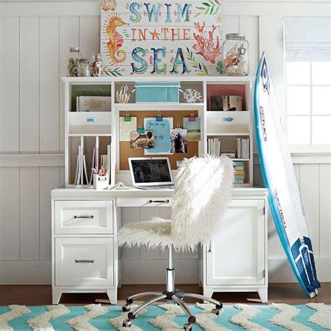 desks for teenage girls ivory furlicious airgo chair pbteen