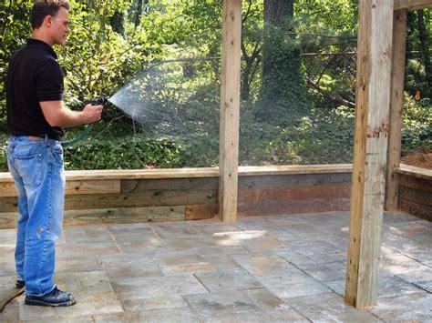 building a patio with pavers building a paver patio how tos diy