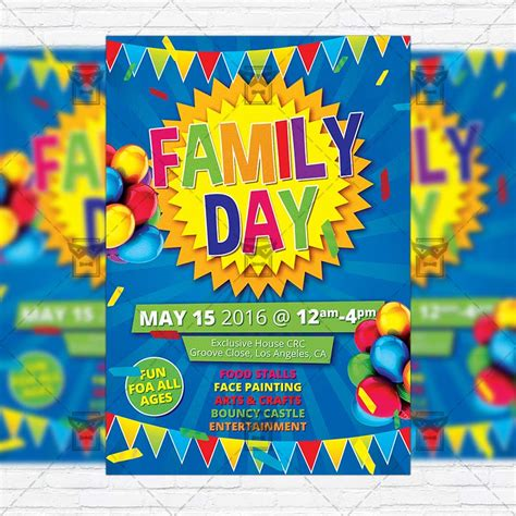 family day flyer template family day premium flyer template instagram size flyer exclsiveflyer free and premium