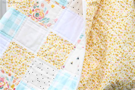 Patchwork Fabric Squares - how to square up your fabric and cut patchwork
