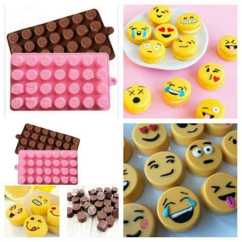 Cetakan Coklat Angka cetakan cokelat fondant puding silicone silikon emoji