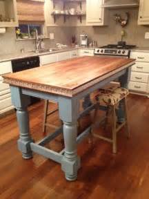 Kitchen Island Table Legs by Painted Kitchen Island Legs For Contempory Kitchen Style