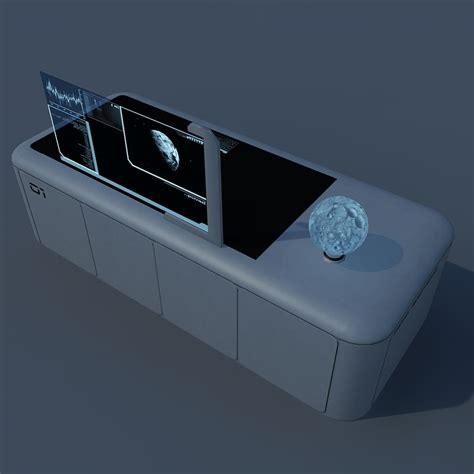 modern desk design by encho enchev sci fi 3d image gallery sci fi desk