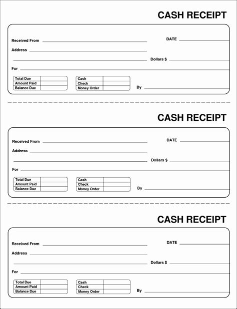 Payment Receipt Book Template by 10 Payment Receipt Template Sletemplatess