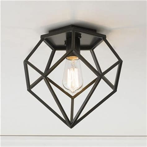 geometric flush mount light a different angle 15 great geometric home accessories