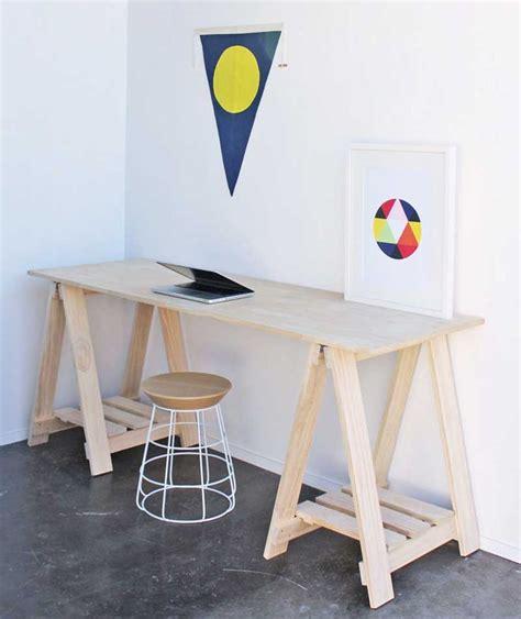 Diy Trestle Desk The 25 Best Trestle Desk Ideas On Pinterest Study Desks Scandinavian Home Office