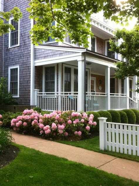 front yard landscaping with hydrangeas my brillian design