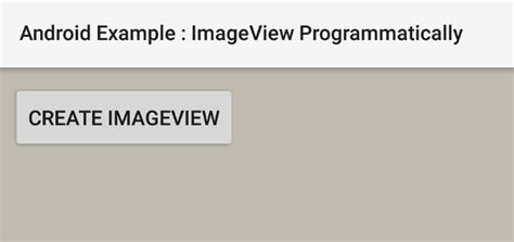 android imageview set image programmatically from drawable how to create an imageview programmatically in android