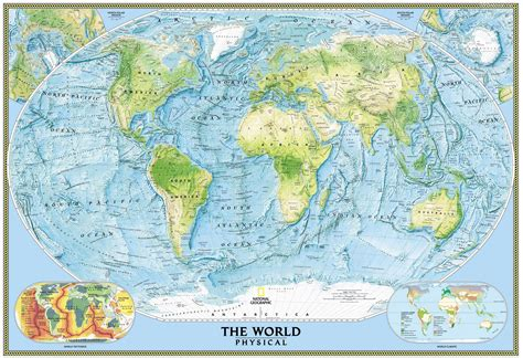 world rivers map hd физическая карта мира 187 туризм и путешествия страны мира