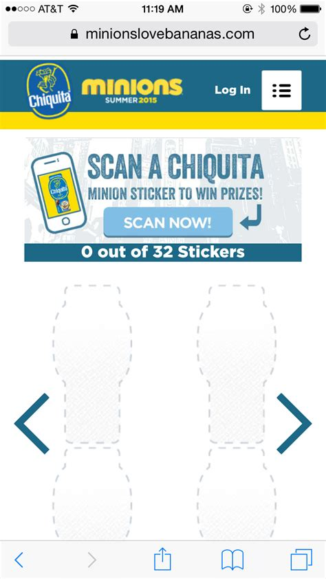 Chiquita Banana Sweepstakes - minion chiquita banana stickers 2015 kamos sticker