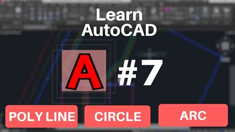 autocad tutorial in hindi autocad tutorial in hindi poly lines circle arc