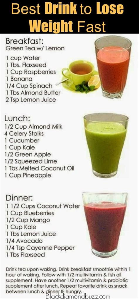 Detox Tea To Lose Weight Uk by 19 Burning Smoothies For Weight Loss At Home