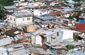 Micro Houses Quartier Pauvre De Manille Aux Philippines 2000