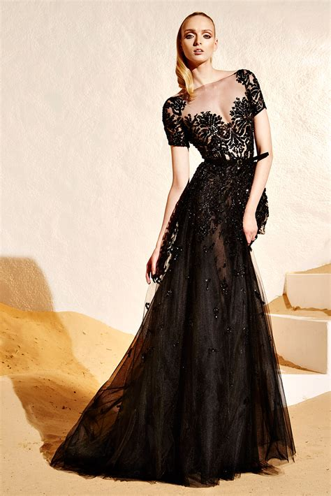 zuhair murad i walk into the room in gold zuhair murad fashiontographer