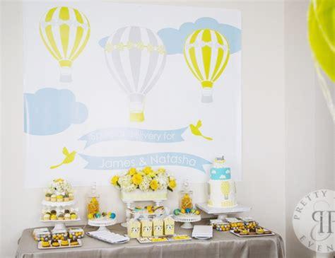 Air Balloon Themed Baby Shower by Air Balloon Baby Shower Quot Air Balloon Baby Shower