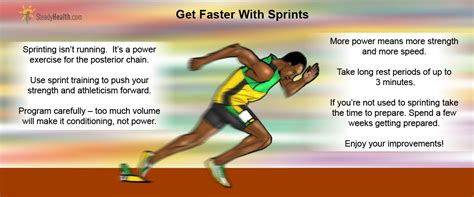 Get Faster With Sprints Workout Exercises Articles