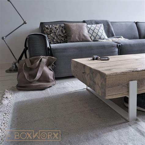 salontafel hout wit combinatie meer dan 1000 idee 235 n over industri 235 le salontafels op