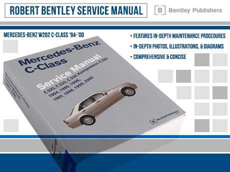 service manual accident recorder 1996 mercedes benz c class instrument cluster accident ecs news mercedes benz w202 robert bentley service manual